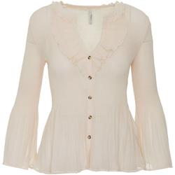 Textiel Dames Overhemden Pepe jeans PL303533 Beige