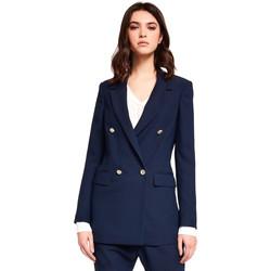 Textiel Dames Jasjes / Blazers Gaudi 921FD35035 Blauw