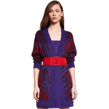 Textiel Dames Vesten / Cardigans Gaudi 921FD53048 Paars
