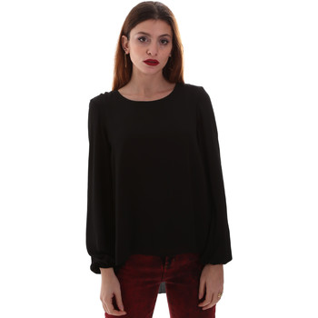 Textiel Dames Overhemden Gaudi 921BD45023 Zwart