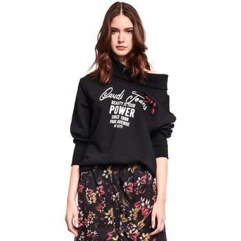 Textiel Dames Sweaters / Sweatshirts Gaudi 921BD64030 Zwart