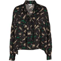 Textiel Dames Tops / Blousjes Liu Jo W69040 T4031 Zwart