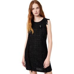 Textiel Dames Korte jurken Liu Jo W69330 T4080 Zwart