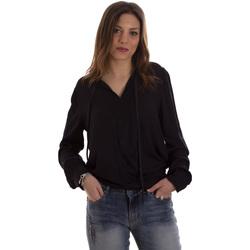 Textiel Dames Overhemden Liu Jo F69053 T4090 Zwart