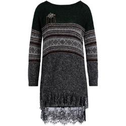 Textiel Dames Truien Liu Jo F69127 MA75I Groen