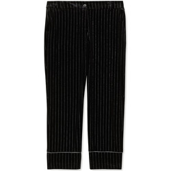 Textiel Dames Pantalons Liu Jo F69250 T4097 Zwart