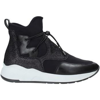 Schoenen Dames Hoge sneakers NeroGiardini A909032D Zwart
