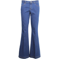 Textiel Dames Bootcut jeans NeroGiardini A960660D Blauw