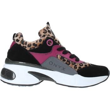 Schoenen Dames Lage sneakers Onyx W19-SOX515 Zwart