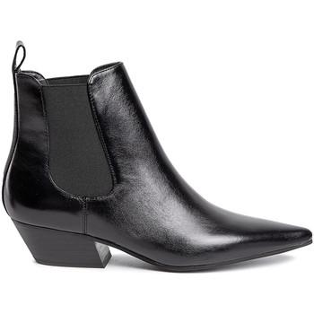 Schoenen Dames Enkellaarzen Calvin Klein Jeans B4E6262 Zwart