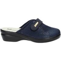 Schoenen Dames Sloffen Susimoda 6836 Blauw