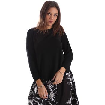 Textiel Dames Truien Fracomina FR19FP8117 Zwart