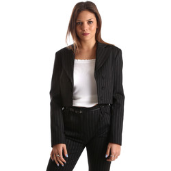 Textiel Dames Jasjes / Blazers Fracomina FR19FP066 Zwart
