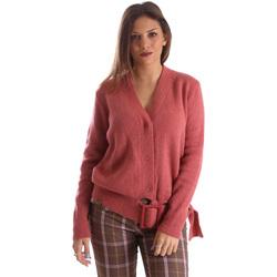 Textiel Dames Vesten / Cardigans Fracomina FR19FMLILITH Roze
