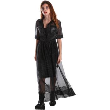 Textiel Dames Lange jurken Fracomina FR19FM567 Zwart