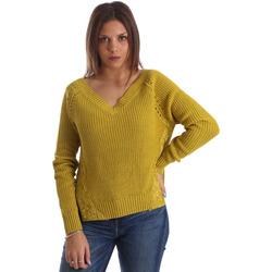 Textiel Dames Truien Fracomina FR19FM836 Geel