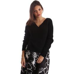 Textiel Dames Truien Fracomina FR19FM836 Zwart