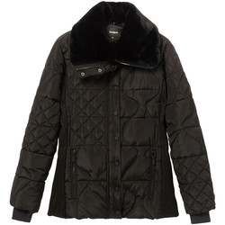 Textiel Dames Dons gevoerde jassen Desigual 19WWEWBP Zwart