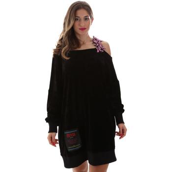 Textiel Dames Korte jurken Versace B6HUB77011684899 Zwart