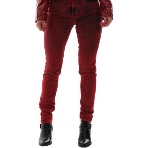 Textiel Dames Jeans Versace A1HUB0Y0APW48537 Rood