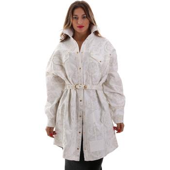 Textiel Dames Jacks / Blazers Versace D2HUB445HRC43003 Wit