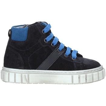 Schoenen Kinderen Hoge sneakers NeroGiardini A923700M Blauw