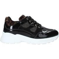 Schoenen Kinderen Lage sneakers NeroGiardini A931204F Zwart