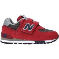 Schoenen Kinderen Lage sneakers New Balance NBIV574FNB Rood