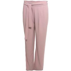 Textiel Dames Losse broeken / Harembroeken Smash S1829415 Roze