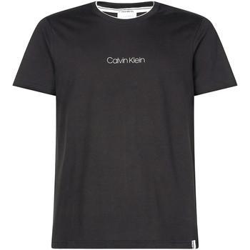 Textiel Heren T-shirts korte mouwen Calvin Klein Jeans K10K104934 Zwart