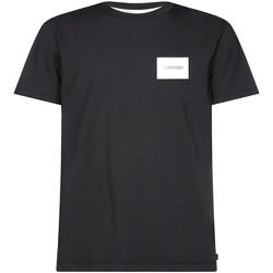 Textiel Heren T-shirts korte mouwen Calvin Klein Jeans K10K104939 Zwart