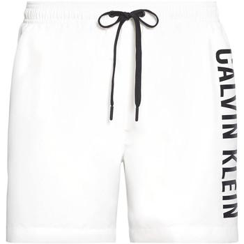Textiel Heren Zwembroeken/ Zwemshorts Calvin Klein Jeans KM0KM00452 Wit