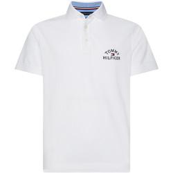 Textiel Heren Polo's korte mouwen Tommy Hilfiger MW0MW13538 Wit