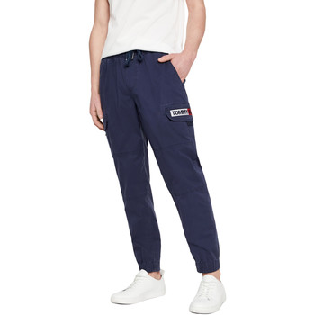 Textiel Heren Trainingsbroeken Tommy Jeans DM0DM07817 Blauw