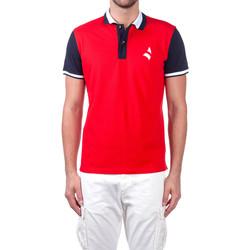 Textiel Heren Polo's korte mouwen Navigare NV82115 Rood