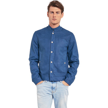 Textiel Heren Jacks / Blazers Gaudi 011BU38005 Blauw