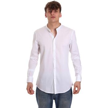 Textiel Heren Overhemden lange mouwen Gaudi 011BU45013 Wit