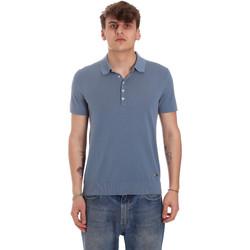Textiel Heren Polo's korte mouwen Gaudi 011BU53011 Blauw