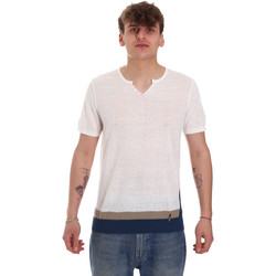 Textiel Heren T-shirts korte mouwen Gaudi 011BU53021 Beige