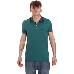 Textiel Heren Polo's korte mouwen Gaudi 011BU64044 Groen