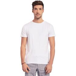 Textiel Heren T-shirts korte mouwen Gaudi 011BU64093 Wit