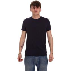 Textiel Heren T-shirts korte mouwen Gaudi 011BU64093 Blauw