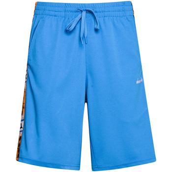 Textiel Heren Korte broeken / Bermuda's Diadora 502176087 Blauw