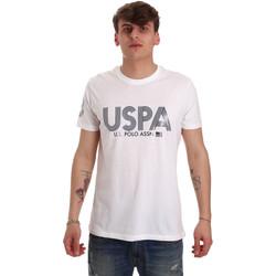 Textiel Heren T-shirts korte mouwen U.S Polo Assn. 57197 49351 Wit