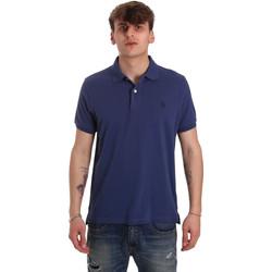 Textiel Heren Polo's korte mouwen U.S Polo Assn. 55957 41029 Blauw