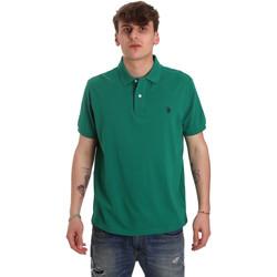 Textiel Heren Polo's korte mouwen U.S Polo Assn. 55957 41029 Groen