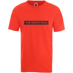 Textiel Heren T-shirts korte mouwen The North Face NF0A3S3O15Q1 Rood