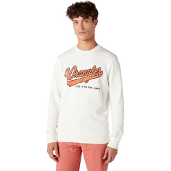 Textiel Heren Sweaters / Sweatshirts Wrangler W6A5HA737 Wit
