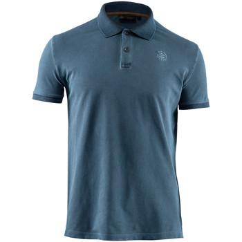 Textiel Heren Polo's korte mouwen Lumberjack CM45940 007 516 Blauw