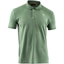 Textiel Heren Polo's korte mouwen Lumberjack CM45940 007 516 Groen